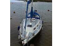 Colvic 27 yacht Bilge keel Diesel beta engine £6500 px welcome car van truck recovery