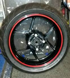 "Rear Wheel Kawasaki Z750 17 "" X5.5"""