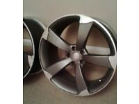 Audi 20 Inch Rota's With Tyres