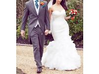 SAN PATRICK IVORY WEDDING DRESS - FOR SALE - CLEAN, GOOD CONDITION