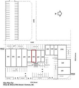 Retail / Office for lease, Vernon - 4412 27th Street #106