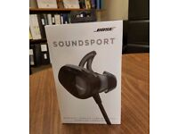 Bose SoundSport Wireless (Black / Brand New)