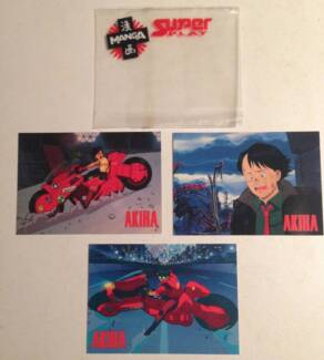 Akira Anime Movie Promotional Trading Cards Waverton North Sydney Area Preview