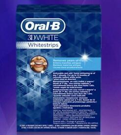 Oral b 3D whitening strips 28