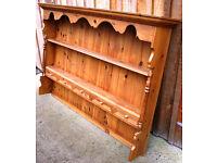 Pine Welsh Dresser Top