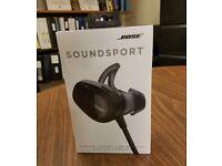 Bose SoundSport Bluetooth Earphones *As New* - Black