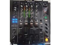 Pioneer DJM 850K with box and manuals.