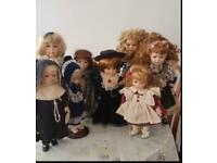 Porcelain dolls for sale very cheap