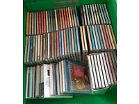 Approx 80 music CD's various genre's