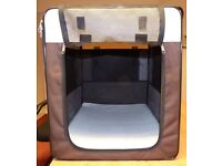 Pet Carrier, excellent condition. Medium. Easy 'pop up and zip assembly'