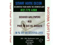 Wallpaper and Paint Decorating