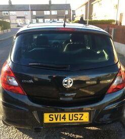 2014 REG VAUXHALL CORSA 1.4 SXI, WITH FLEX FIX BIKE CARRIER, NO PREVIOUS OWNERS, GOOD CONDITION