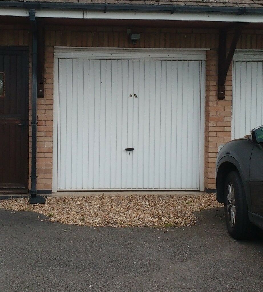 Metal Up And Over Garage Door Frame And All Fixings In Wigston Leicestershire Gumtree