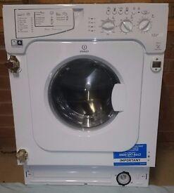 2 week old Indesit IWME147 Integrated Washing Machine