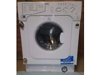 2 week old Indesit IWME147 Integrated Washing Machine