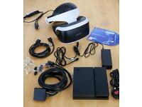 Sony PSVR PS4/5 Virtual Reality Headset with PS5 adaptor