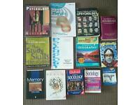 Selection of study books