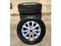"""New Ford Transit Custom 16"""" Alloys With New Tyres"""