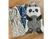 Swaddle and sleeping bag 0-6