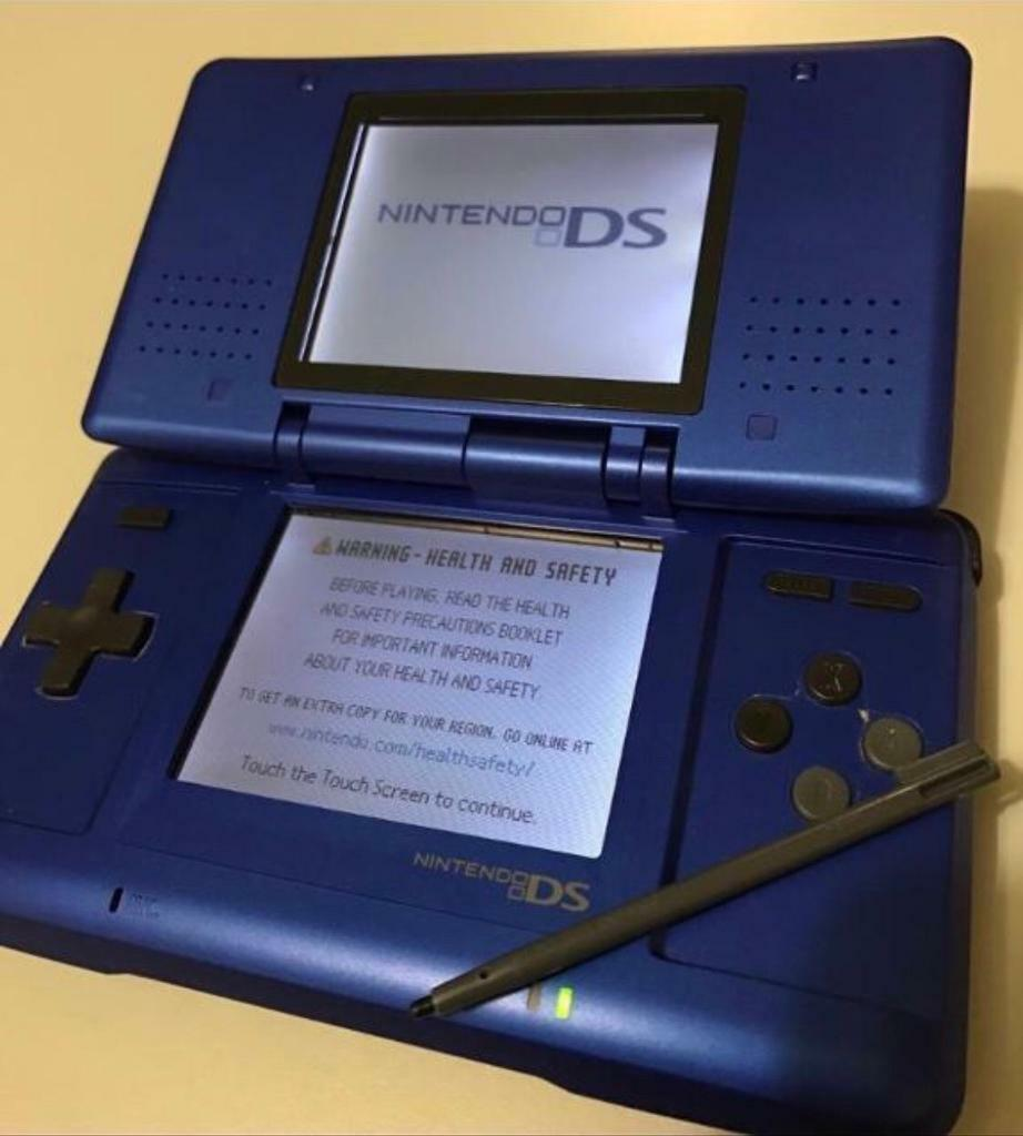 Original Blue Nintendo DS (No Charger)