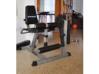 Leg curl and extension bench.