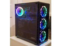 VR Ready Gaming PC (Core i5, 16GB RAM, GTX 1060, 120GB SSD, 1TB HDD, Win 10, RGB, TG)