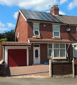 3 Bedroom semi detached house in Swinton, Rotherham available for rent from 22nd/23rd May