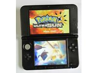 NINTENDO 3DS XL OLD - 32GB - with 100 Games (37 Pokem0n) + Charger