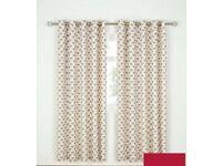 "heart curtains 66"" x 72"""