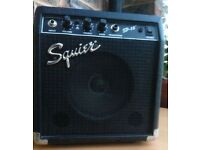 Fender Squier SP-10 Electric Guitar Amplifier, Practice Amp, 10w, Sounds Great!