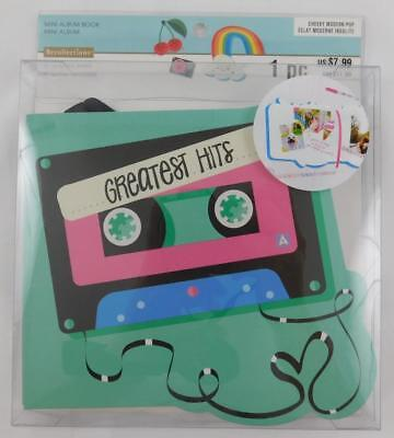 Recollections Mini Album Book 40 Cardstock Sheets New Cassette Tape