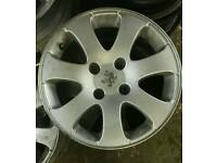 "16"" Peugeot alloys"