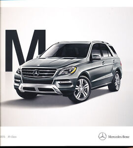 2015 mercedes benz m class 32 page car brochure ml250 for Mercedes benz accessories ml350