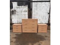 Rauch Plus-2 3+2 Chest of Drawers & 2 Bedsides