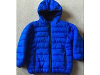 Next Boy Cobalt Blue Padded Hooded Jacket 3 - 4 Years