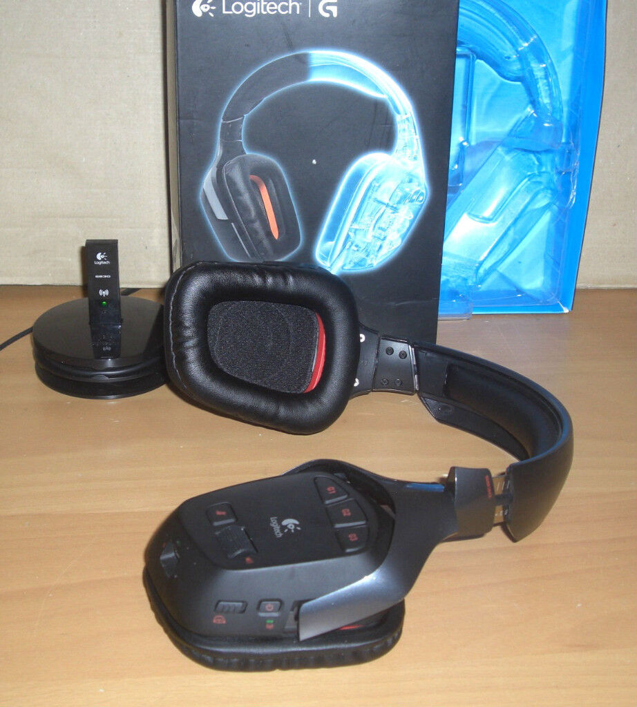 Logitech G930 Wireless Gaming Headset 7 1 Positional Surround Sound New |  in Liverpool, Merseyside | Gumtree