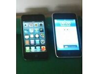 TWO APPLE IPODS. READ INFO