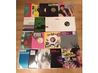 Job lot of 62 Trance, Electro House, House and Funky House records. Plenty of Promos