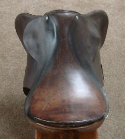 Saddle J A Barnsby and sons of london Brown Leather
