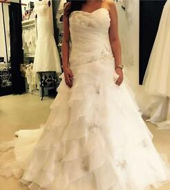 New wedding dress never used.