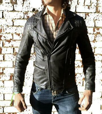 *BRAND NEW* ALL SAINTS CARGO LEATHER BIKER JACKET Conroy XS/S/M RRP $525