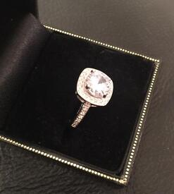 Silver and Sapphire Ring - Reduced