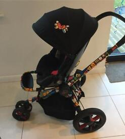 Quinny Moodd Britto travel system *limited edition
