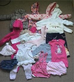 Girl's clothes bundle 12-18months