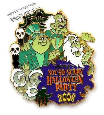 HAUNTED MANSION HITCHHIKING GHOST 2008 HALLOWEEN PARTY MNSSHP LE DISNEY PIN
