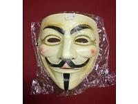 Alkaline, V for Vendetta, Guy Fawkes Masks