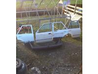 Ford escort mk4 doors and rear bumper