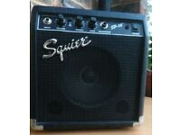 Fender Squier SP-10 Electric Guitar Amplifier, Practice Amp, 10w, Sounds Great!