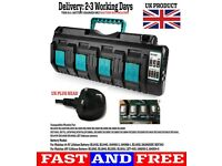 makita charger 4 port DC18SF 4 in 1 charger
