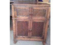 Vintage Oak Cupboard